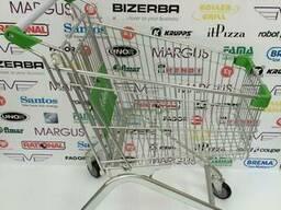 Візок для супермаркету от 60 лт.