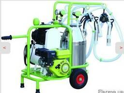 Доильный аппарат для коров универсальный на бензине сеть