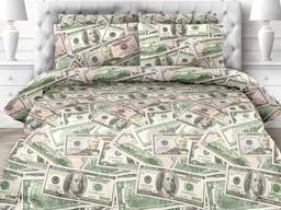 Доллары, постельное белье поплин, 100% хлопок - оригинальный подарок