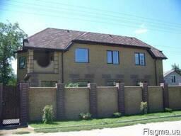 Дом 2-эт.370/130/40 земли 11 соток, первая улица от Днепра.