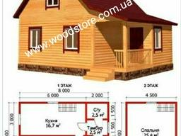 Дом из дерева. Каркасное домостроение. Строительство домов