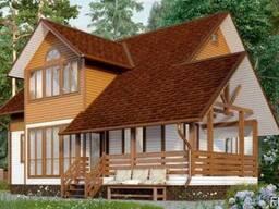 Дом из профилированного бруса 10х10 м
