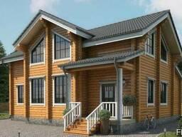 Дом из профилированного бруса 10х12