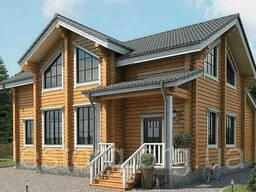 Дом из профилированного бруса 10х12 м