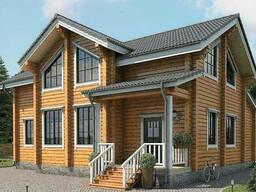 Дом из профилированного клееного бруса 10х12 м