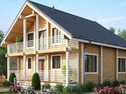 Дом из профилированного бруса 10х8