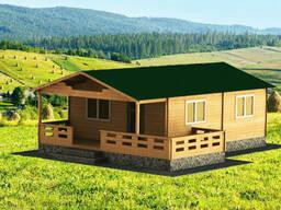Дом из профилированного бруса 10x6