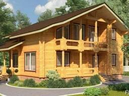 Дом из профилированного бруса 11х12