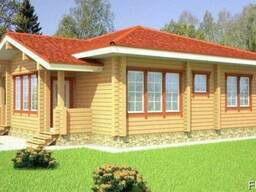 Дом из профилированного бруса 11х12 м
