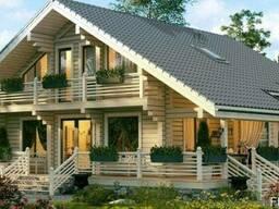 Дом из профилированного бруса 12х14 м