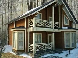 Дом из профилированного бруса 12х8