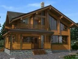 Дом из профилированного бруса 13х11 м