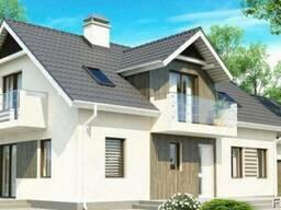 Строительство дома из профилированного бруса 19х9 м