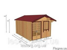 Дом из профилированного бруса 3*3