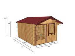 Строительство деревянных домов из профилированного бруса 3х4