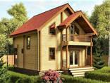 Дом из профилированного клееного бруса 7×7 м - фото 2