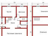 Дом из профилированного клееного бруса 7×9 м - фото 2