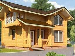 Дом из профилированного бруса 7х8