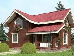 Дом из профилированного бруса 9х10