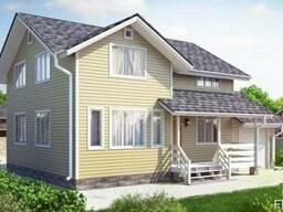 Дом из профилированного бруса 9х11 м