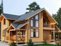 Дом из профилированного бруса 9х15 м