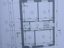 Дом на этапе строительства, Пирогово