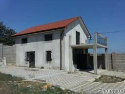 Дом недострой новой постройки на ул. Шафрановая