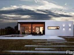 Дом новый современный с дизайнерским ремонтом.