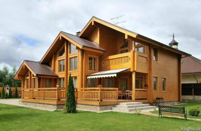 Дома из бруса профилированного. Строительство и проектирован