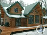 Дома из дикого сруба - фото 1