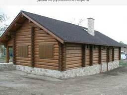 Дома из рубленного лафета