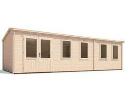 Домик садовый из профилированного бруса 8. 5х3. 5 м