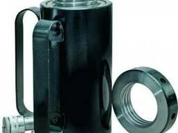 Домкрат (цилиндр силовой)гидравлический с фиксирующей гайкой