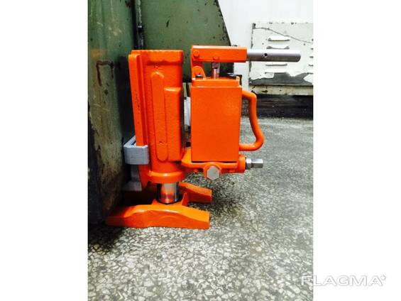Домкрат гидравлический с нижним подхватом для станков оборуд