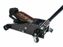 Домкрат підкатний 4т h min 100 мм, h max 510 мм, 2 поршня. ..