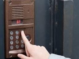 Домофоны, сигнализация, видеонаблюдение.