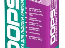 Стяжка для пола армированная Dops basis ТМ Полипласт: 25 кг