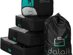 Дорожній набір сумок органайзерів, чохли для одягу
