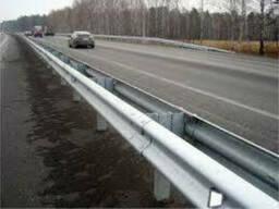 Дорожное барьерное ограждение без покрытия 4,0 мм 11ДД-2. ..