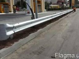 Дорожное ограждение 11ДО-2, 11ДО-4 (3мм, 4мм) без покрытия