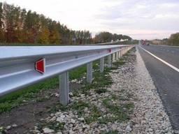 Дорожное ограждение оцынкованное толщина 4 мм