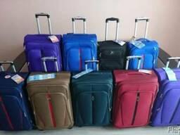 Дорожный чемодан - валіза WINGS 1706/1710 сумка на колесах - фото 6