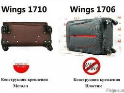 Дорожный чемодан - валіза WINGS 1706/1710 сумка на колесах - фото 7