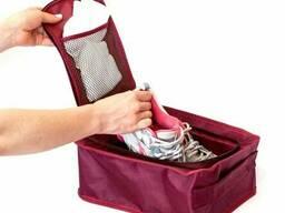 Дорожный органайзер для обуви Organize C018 винный. ..