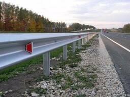 Дорожные ограждения, барьерное ограждение дорожное