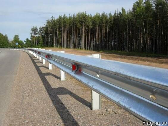 Дрожные ограждения металлические барьерного типа 11ДО, 11ДД