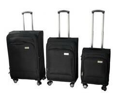 Дорожные сумки на колесах Luggage HQ (набор 3 штуки)