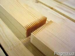 Доска пола сосна срощенная 85-90-100x28-32x6000 мм
