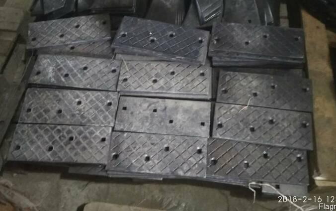 Доска полевая широкая плуга ПЛН (боковина) от производителя