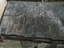 Доска полевая узкая плуга ПЛН борированная от производителя